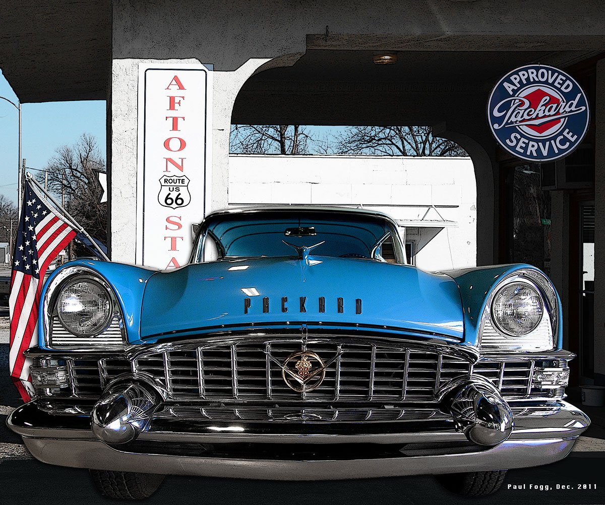 route 66 afton station packard museum
